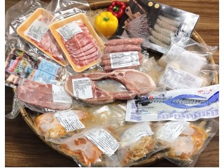 頂級豬肉滿福飽+海陸奢華拼盤