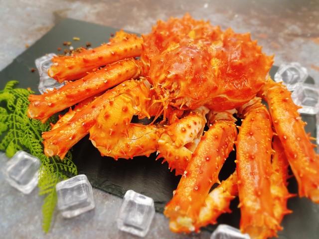 智利熟凍帝王蟹(免運費)