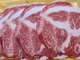 西班牙伊比利豬梅花燒肉片